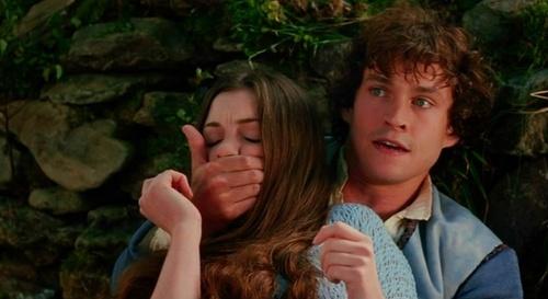Hugh in Ella encantada