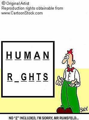 Human Rights Cartoon