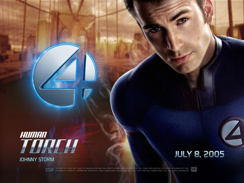 Human Torch 1 - fantastic-four Wallpaper