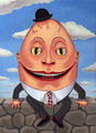 Humpty Dumpty - alice-in-wonderland fan art