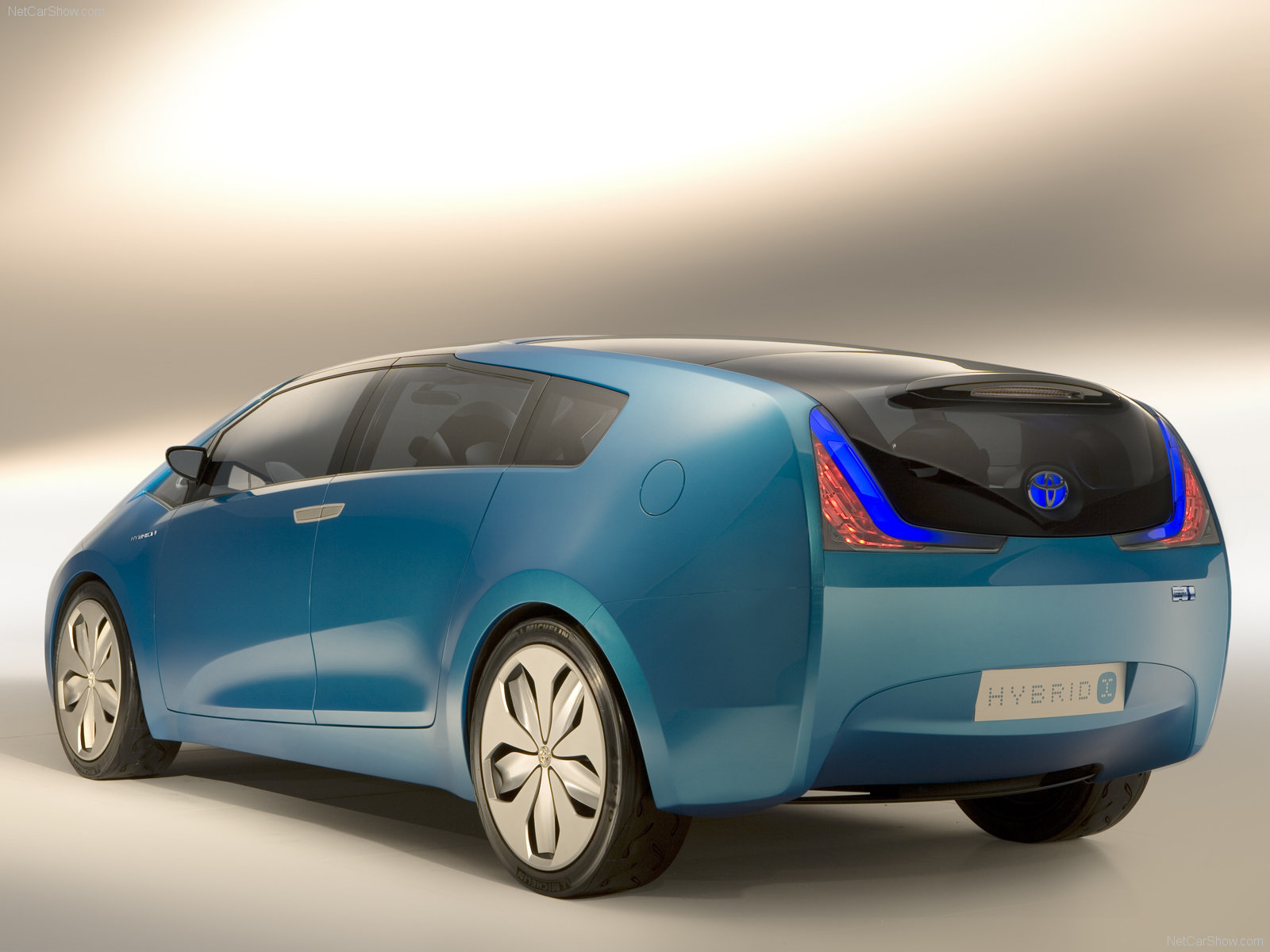 Toyota Images Hybrid X Concept 2007 Hd Wallpaper And