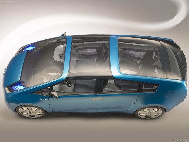 2007 Toyota Hybrid X Concept. Hybrid X Concept 2007 - Toyota