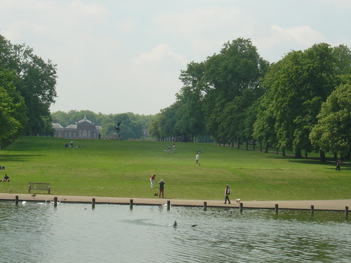 Hyde Park - london Wallpaper