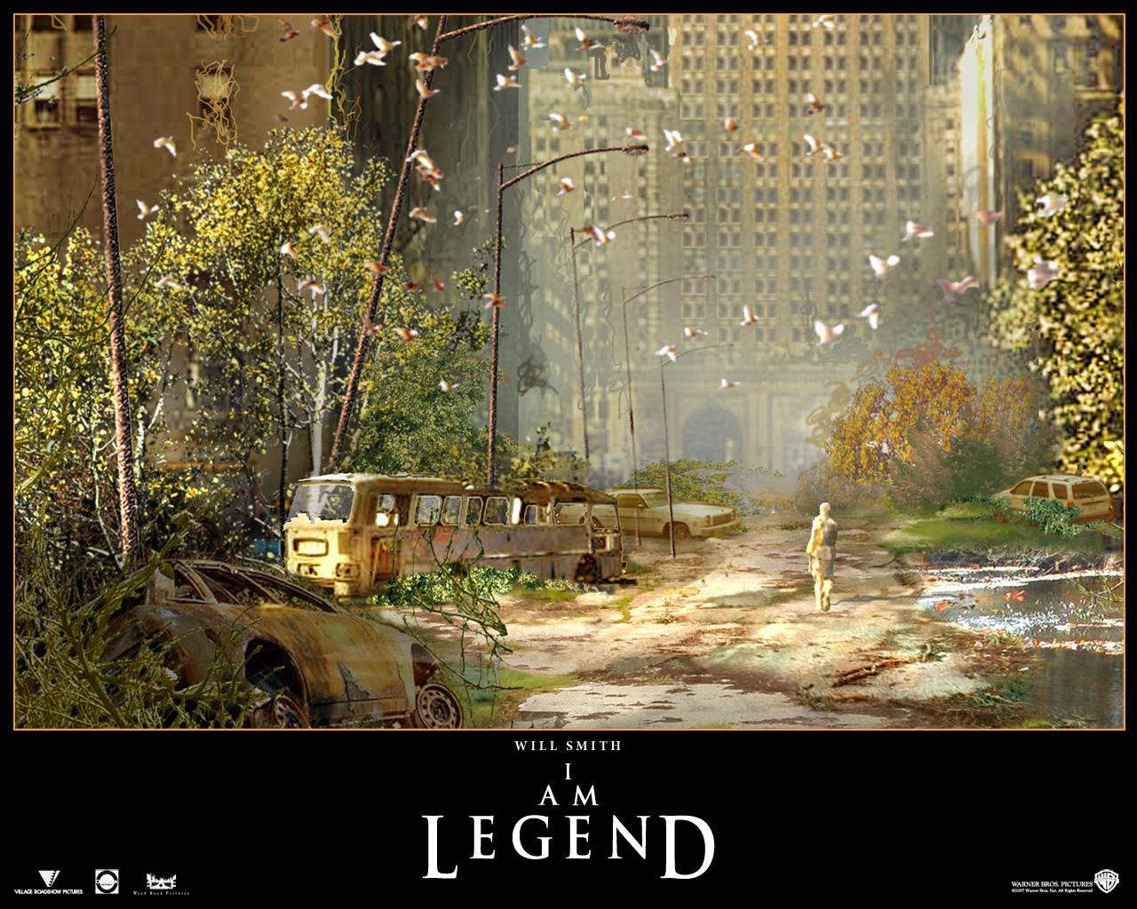 I Am Legend Wallpaper Movies images I Am Leg...