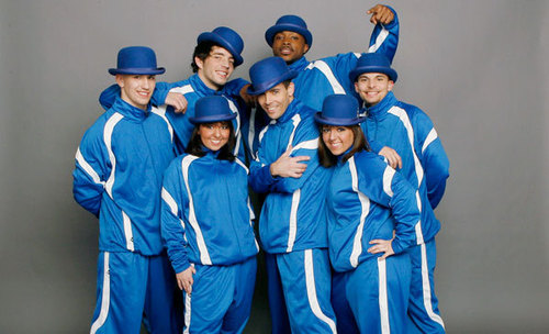 America's Best Dance Crew achtergrond called ICONic