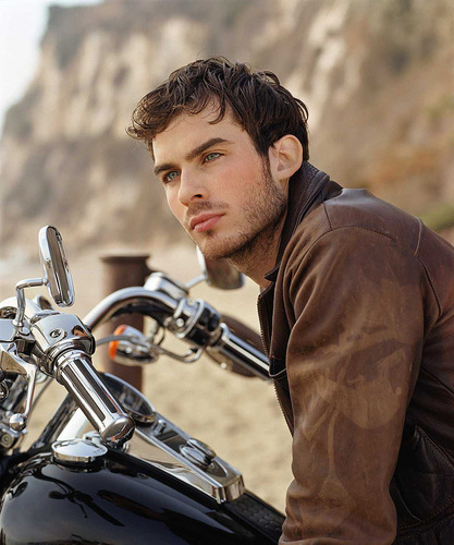 Ian Motorcycle - ian-somerhalder Photo