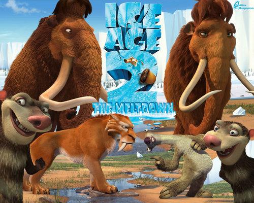 Ice Age Hintergrund titled Ice Age 2