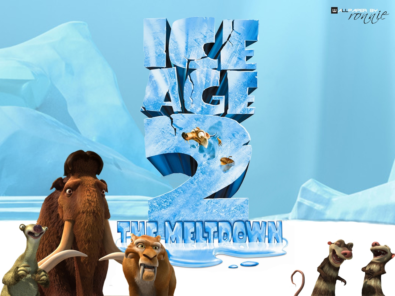 Ice Age 2 ice age 627023 1280 960 Ice Age 3 Dawn of the Dinosaurs Wallpapers