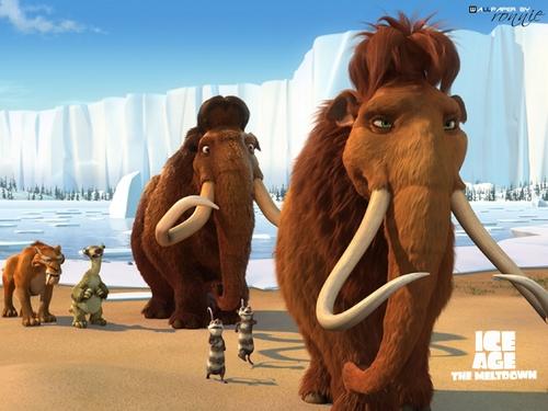 kapanahunan ng yelo wolpeyper titled Ice Age 2