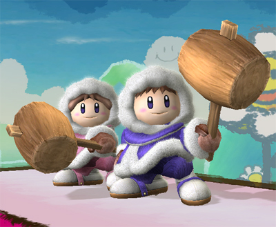 Super Smash Bros. Brawl वॉलपेपर called Ice Climbers