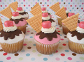 Ice Cream Cupcake - cupcakes photo