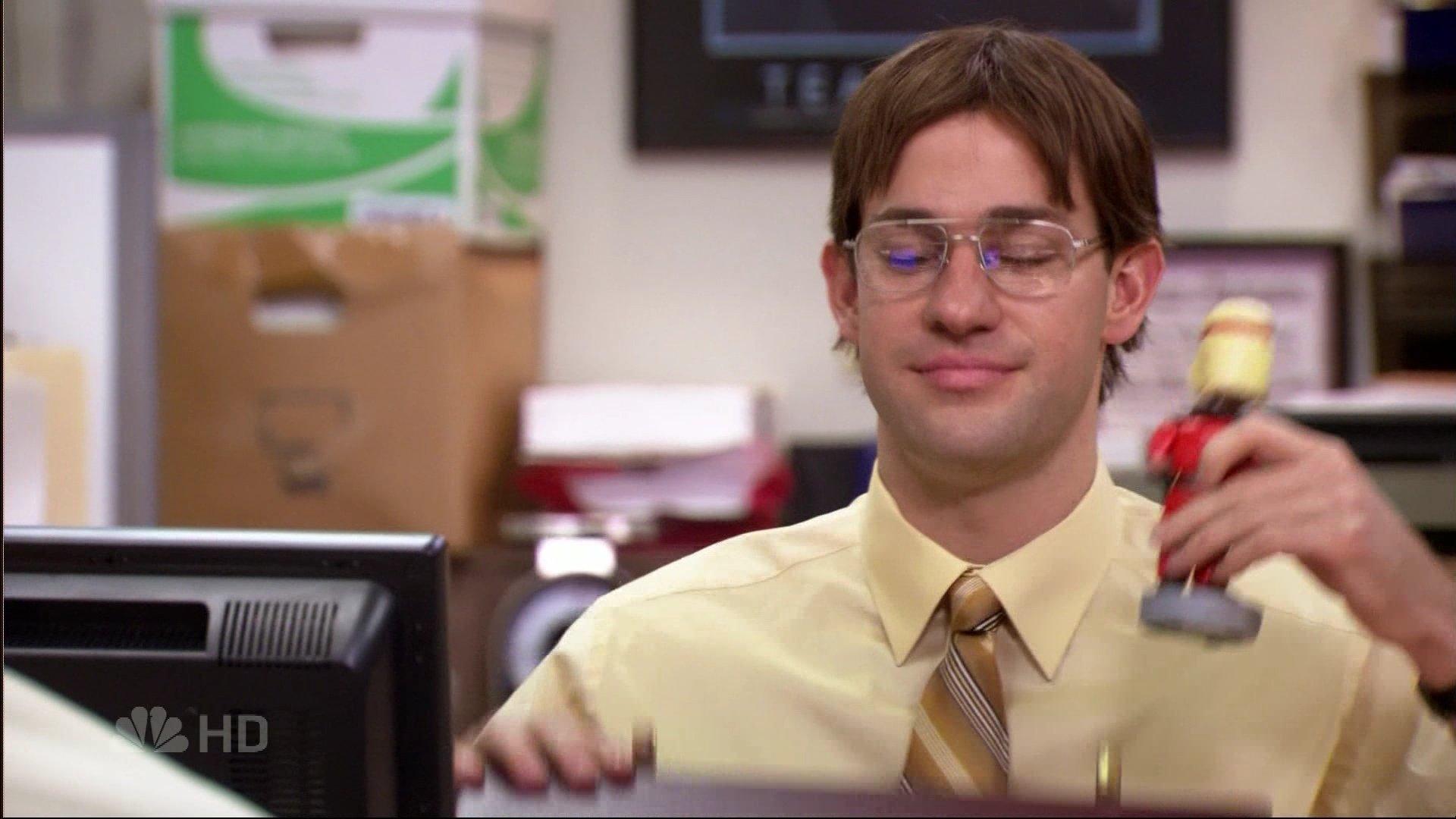 Office Pranks: Jim as Dwight