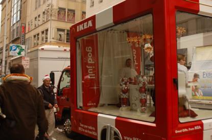 Ikea mobile truck