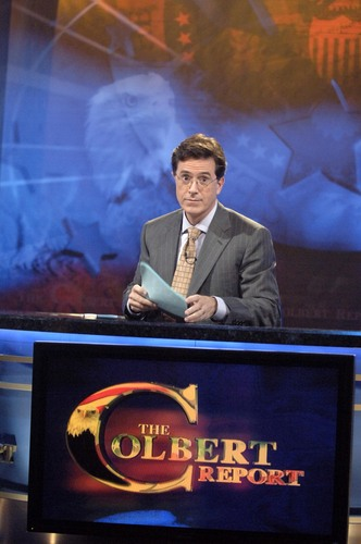 Stephen Colbert wallpaper titled In Studio Publicity Shots