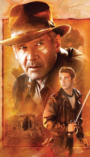 Indy 4 Comic Cover Art