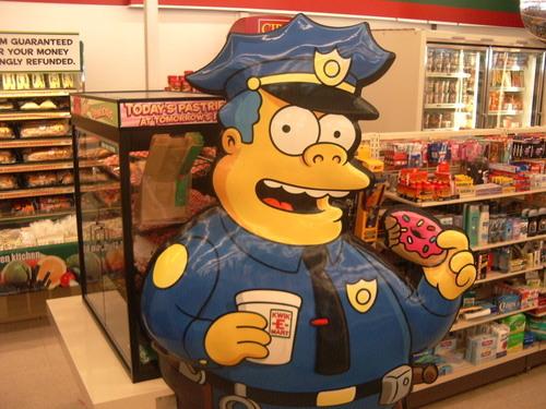 Inside Canadian Kwik-E-Mart