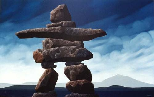 Canada images Inukshuk In Nunavut wallpaper and background photos