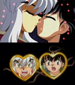 Inuyasha movie 2 kiss