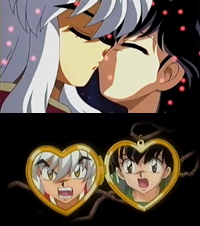 inuyasha movie 2 ciuman
