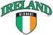 Ireland - Eire crest flag