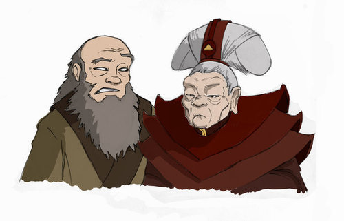 Iroh and Li... hoặc is it Lo?