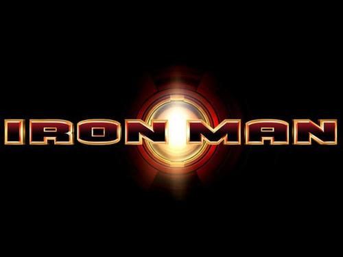 Iron Man Wallpaper Titled Logo