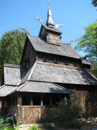 Island's Stave Church