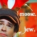 It's a Moose. On a Jew.