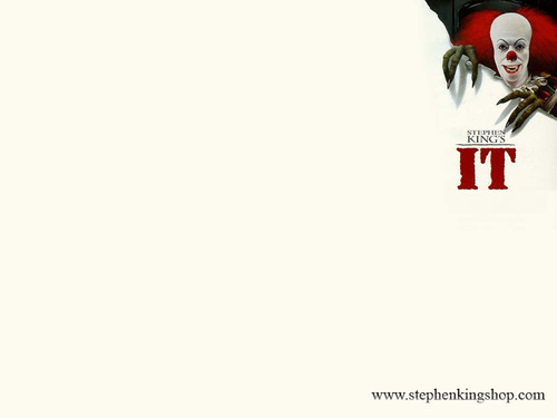 Stephen King wallpaper titled It