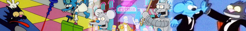 Itchy And Scratchy 表示する banner