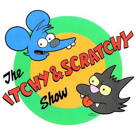 The Itchy And Scratchy Show wallpaper titled Itchy and scratchy