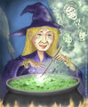 J.K. Rowling Cartoon