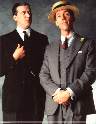 Jeeves and Wooster wallpaper entitled J&W portrait