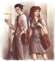 J and L - harry-potter-fanfictions fan art
