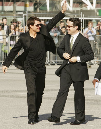 JJ Abrams & Tom Cruise