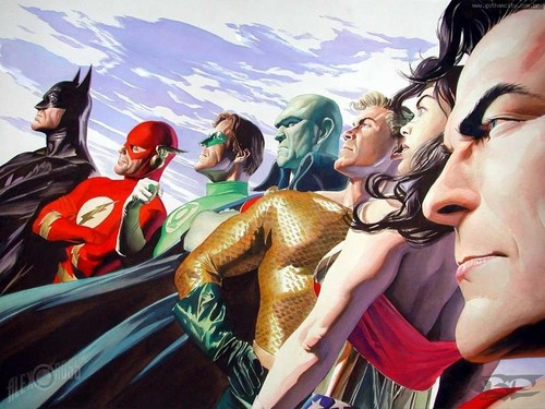 JLA Alex Ross - dc-comics Wallpaper