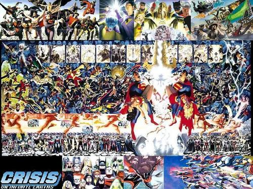 Justice League Hintergrund titled JLA