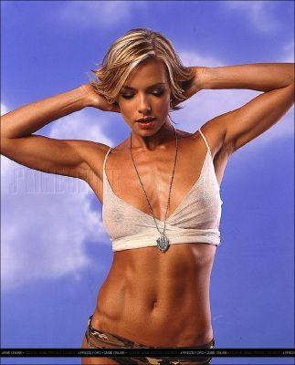 aktris wallpaper entitled Jaime Pressly