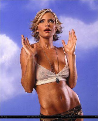 Pelakon wanita kertas dinding titled Jaime Pressly