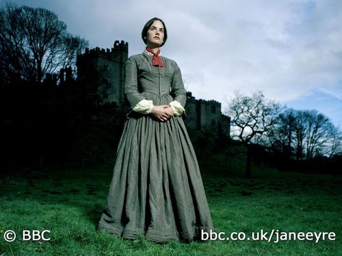 Book to Screen Adaptations karatasi la kupamba ukuta entitled Jane Eyre