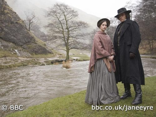 Book to Screen Adaptations achtergrond called Jane Eyre