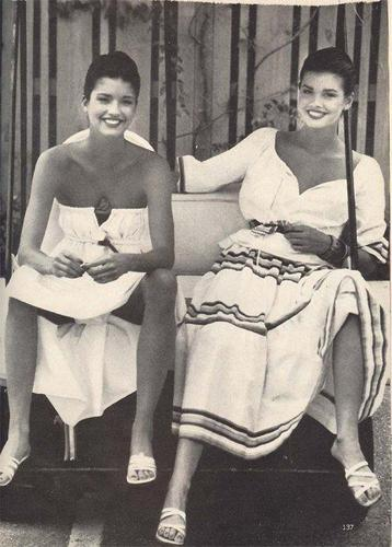 Janice D. and her sister