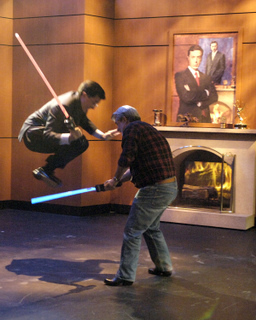 Stephen Colbert wallpaper titled Jedi Stephen