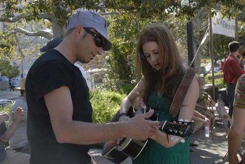 Jenna Fischer & Dan Bern