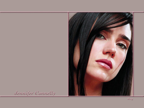 Jennifer Connelly karatasi la kupamba ukuta titled Jennifer Connelly