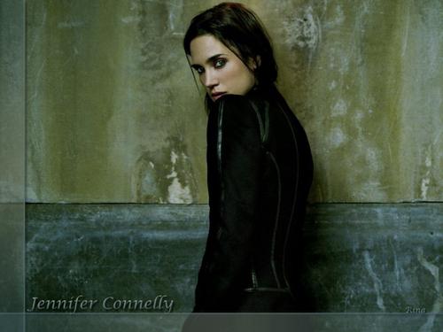 Jennifer Connelly karatasi la kupamba ukuta titled Jennifer Connelly