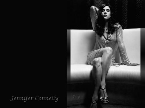 Jennifer Connelly karatasi la kupamba ukuta entitled Jennifer Connelly