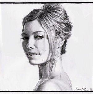 Jessica Biel Fanart