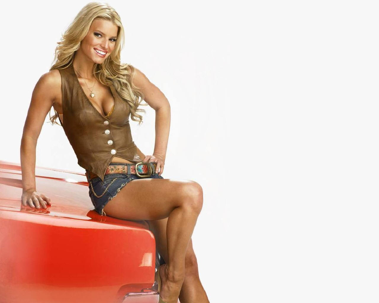 Jessica simpson bikini wallpapers