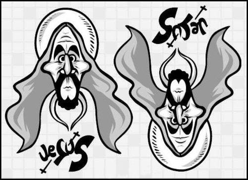 Jesus یا satan